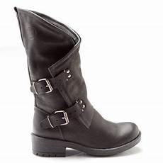 bottes noires femme rock