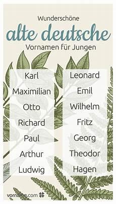 129 besten alte deutsche vornamen bilder auf