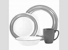 Corelle Boutique Brushed Silver 16 Pc. Dinnerware Set