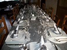 Deco Table Noel Blanc Et Argent So Lan Fr