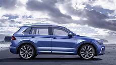 new vw tiguan crossover bows in with solar panelled gte