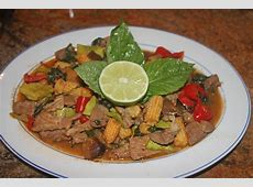 stir fried pork with green beans   baby corn_image