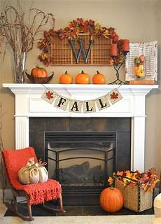 Home Decor Ideas For Fall by Fall Themed Decor Banner Holidays Fall Fireplace Fall