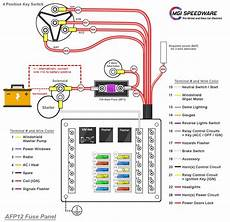 Universal Automotive Fuse Box With 12 Fuses Mgi Speedware