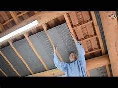 isolation garage polystyrène extrudé isoler facilement la sous toiture avec des panneaux de
