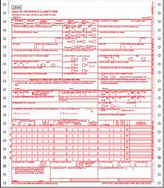 previous cms 1500 health insurance form