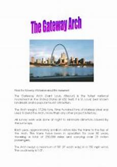 arch worksheets 19288 the gateway arch in st louis usa