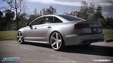 audi s6 on 22 quot vossen cv3 wheels by california wheels