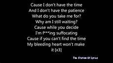 and status ft time lyrics youtube