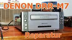 denon drr m7 auto kassettendeck reparatur