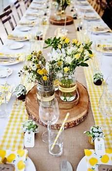 51 trendy wedding table settings yellow receptions