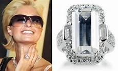 celebrities diamond engagement rings