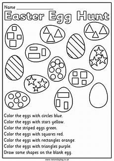 easter mathematics worksheets for 1st grade