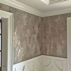 wall finish for a dining room with three different custom