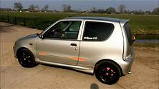 fiat seicento abarth tuned modified tuning fiat seicento abarth racing muffler