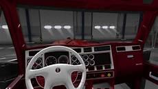 Kenworth W900 Truck Interior American Truck Simulator