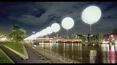 germans celebrate the fall of the berlin wall with lights and balloons youtube