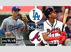braves vs dodgers 2018