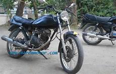 Gl 100 Modif by Modifikasi Honda Gl 100 Marem Motor