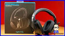 headset pc test logitech g533 wireless 7 1 gaming headset pc unboxing
