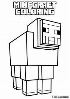 Tier Malvorlagen Minecraft Die 19 Besten Bilder Minecraft Ausmalbilder