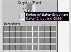 give potion water breathing minecraft