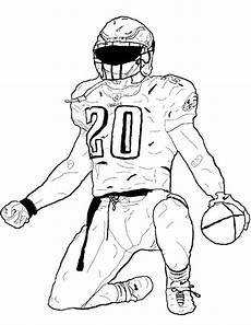 nfl sports coloring pages 17791 football player bending the foot coloring page football coloring pages american football