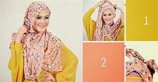 Kreasi Jilbab Pashmina Terbaru Kumpulan Panduan Cara