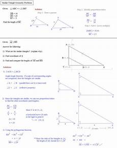 geometry worksheets similar triangles 888 theorems for similar triangles worksheet answers using similar right triangles read geometry