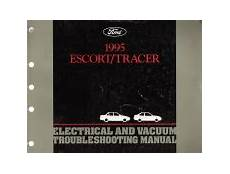 auto manual repair 1995 mercury tracer head up display 1995 ford escort mercury tracer electrical and vacuum troubleshooting manual evtm