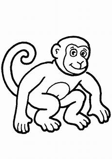 coloring pages monkey coloring page