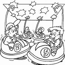 carnival rides coloring pages and print for free