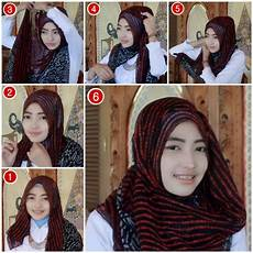 Tutorial Zaskia Sungkar Simple Jilbab Gucci