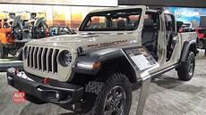 2020 Jeep Rubicon by 2020 Jeep Gladiator Rubicon Exterior And Interior Walk