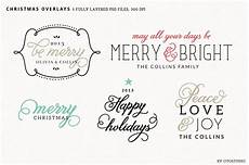 digital christmas overlays 2 graphic objects creative market