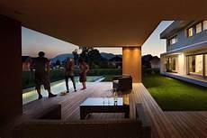 Massivbau Holz Alufenster Moderne L Form Moderne