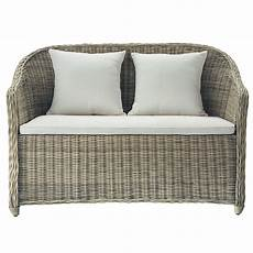 divanetto da giardino divanetto da giardino in resina intrecciata 2 posti