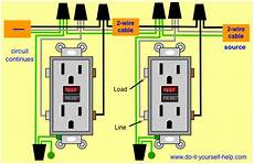 Wiring Diagram For Two Gfci For The Home
