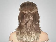 how to do a twisted crown hairstyle with pictures wikihow
