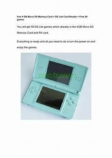jeux ds lite nintendo ds lite blue console de jeu gratuit 59 jeux