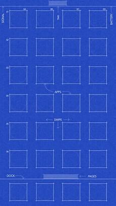 Iphone Xr Blueprint Wallpaper