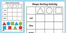 shapes worksheets eyfs 1093 free shape sorting cut and paste worksheet 2d shapes