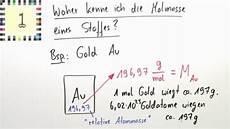 stoffmenge masse molmasse chemie themen einfach erkl 228 rt
