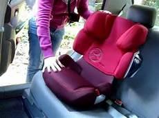 детское автокресло cybex solution x2 fix 2013 установка