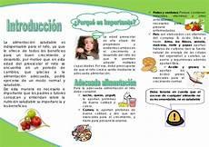 alimentacion en el pre escolar triptico
