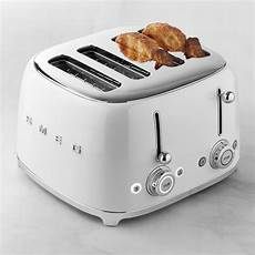 smeg toaster günstig smeg 4 x 4 slice toaster williams sonoma