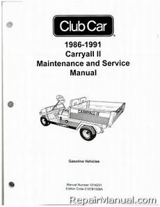 what is the best auto repair manual 1986 toyota mr2 spare parts catalogs 1986 1991 club car carryall ii gas service manual