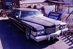 1974 Cadillac Limousine Fleetwood 75 NO RESERVE