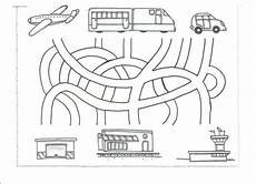 transportation worksheets for pre k 15224 pin di tap viet