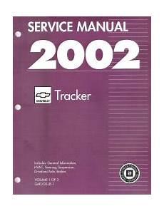 small engine service manuals 2002 chevrolet venture auto manual 2002 chevrolet tracker factory service manual